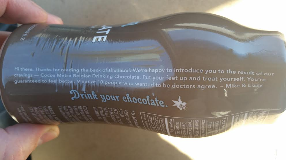 Drink Your Chocolate