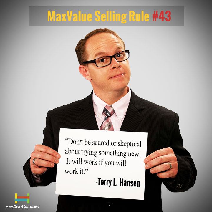 Terry Hansen - MaxValue Selling Rule#43