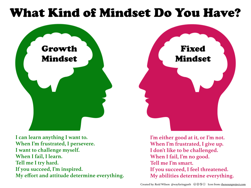 Growth mindset - Terry Hansen